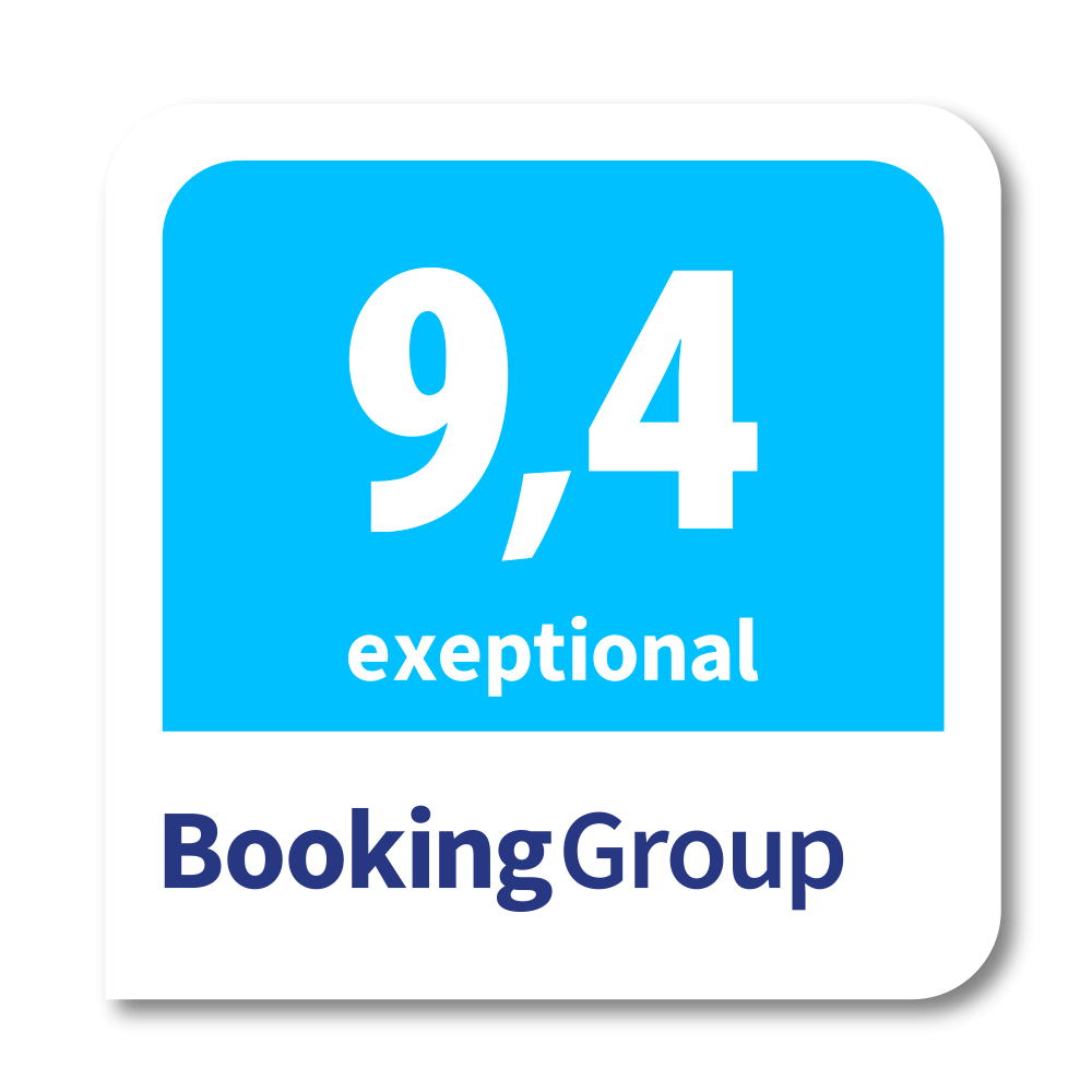 booking group - exeptional 9.4